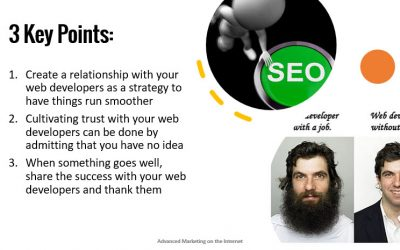 """""""How to Get Your Web Developer on Board with SEO"""""""