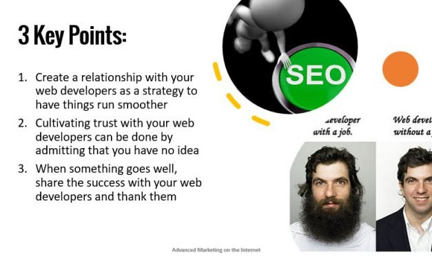 """How to Get Your Web Developer on Board with SEO"""