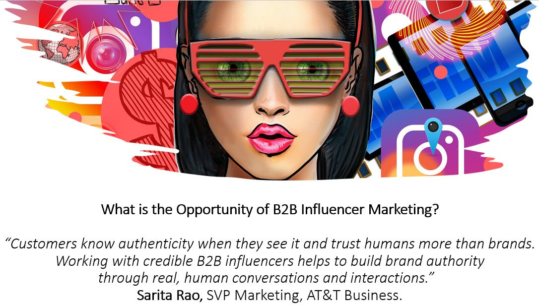 What is the opportunity of B2B Influencer Marketing?