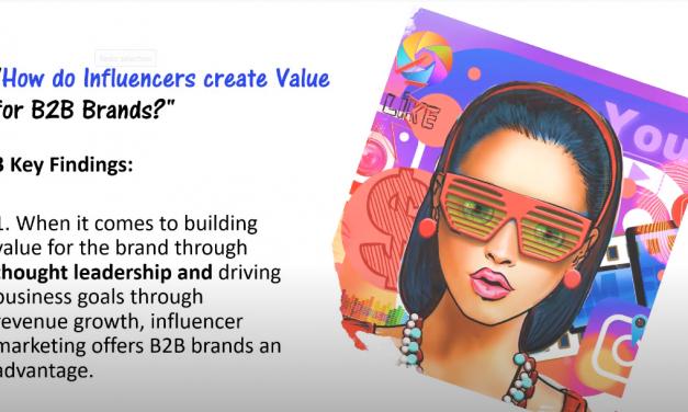 """How do influencers create value for B2B brands?"""